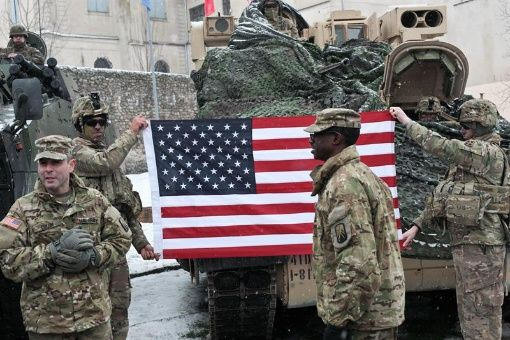 Polonia da la bienvenida a contingente militar de EE.UU.