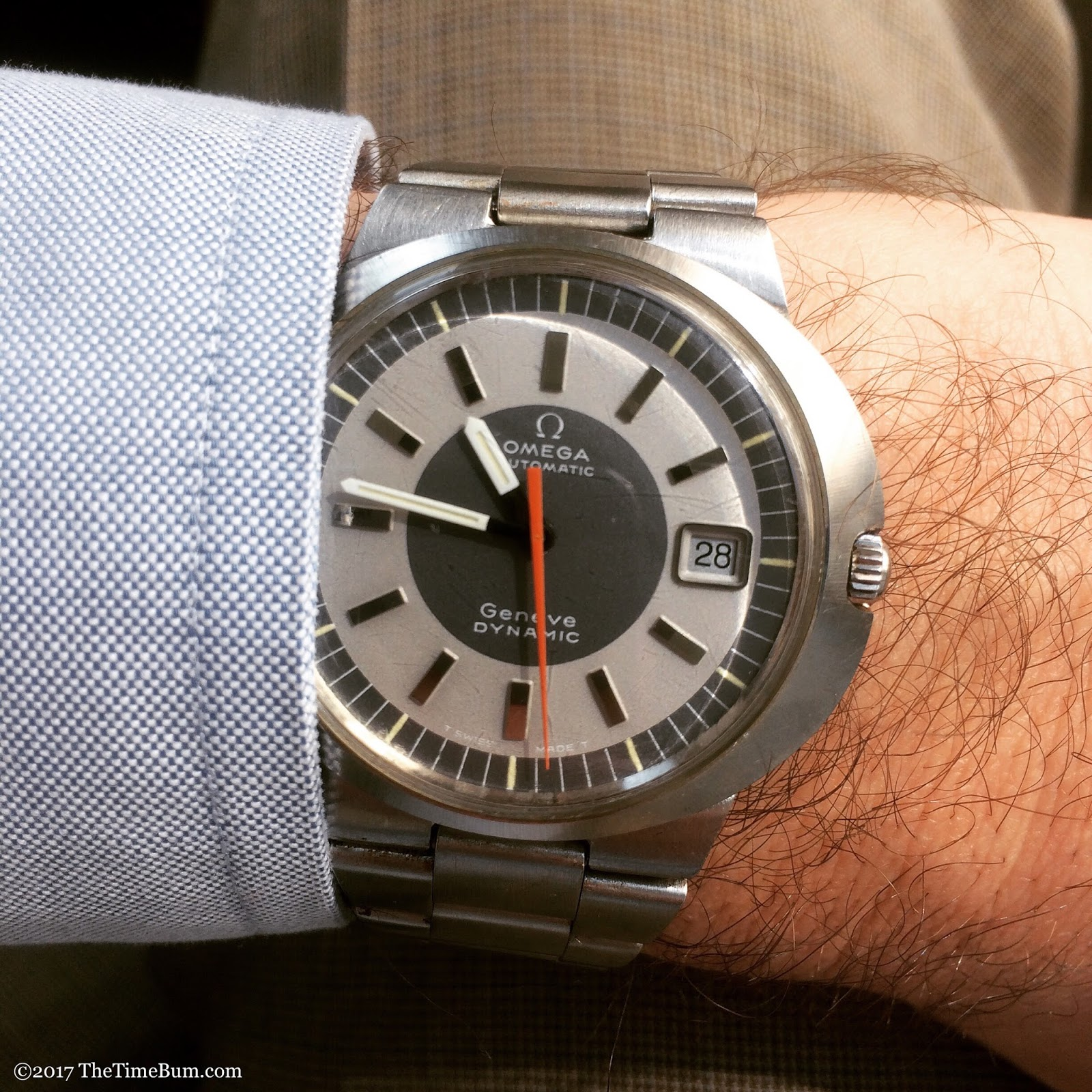 Omega Dynamic wrist