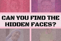 Hidden Faces in Picture Puzzles