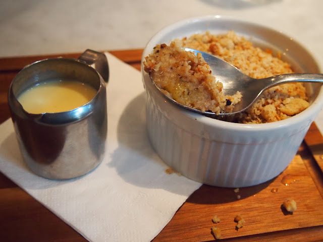Pineapple and Black Pepper Crumble