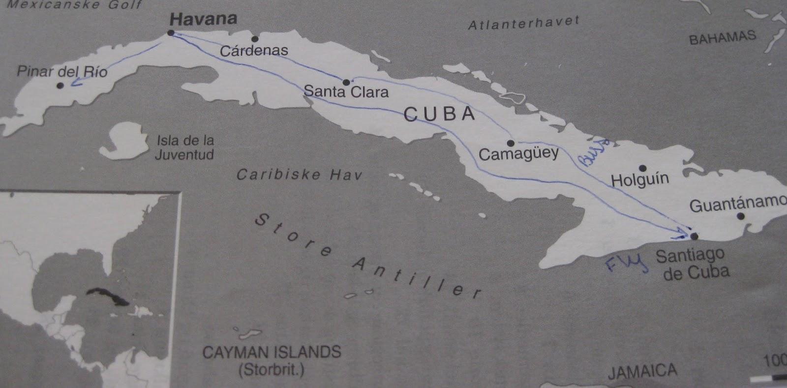 Rigmors Reiser Cuba Rundreise November 2009 Del 1
