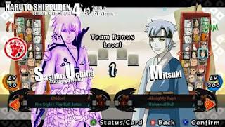 Mod Texture Naruto senki ultimate style (NSUNI) Game PPSSPP Terbaru