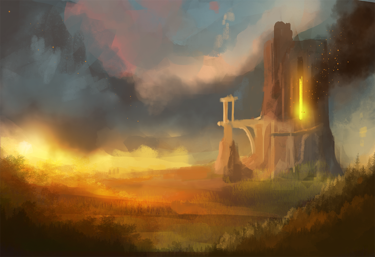 The gallery for --> Hogwarts Castle Drawing