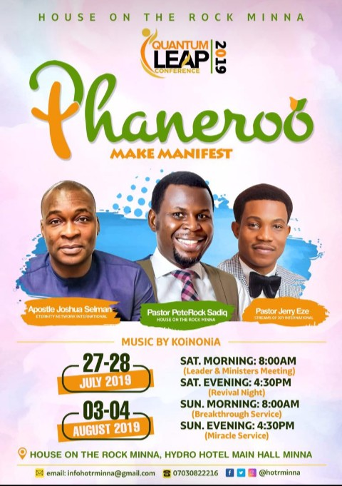 [Event] Quantum Leap 2019 With Apostle Joshua Selman Nimmak and Pastor Jerry Eze