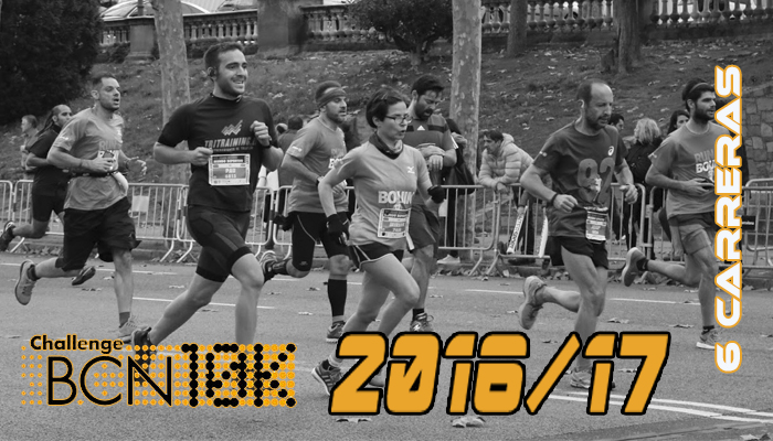 ChallengeBCN10k 2016/17 - 6 carreras