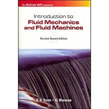 Download Fluid mechanics by S K Som & Biswas Book Pdf