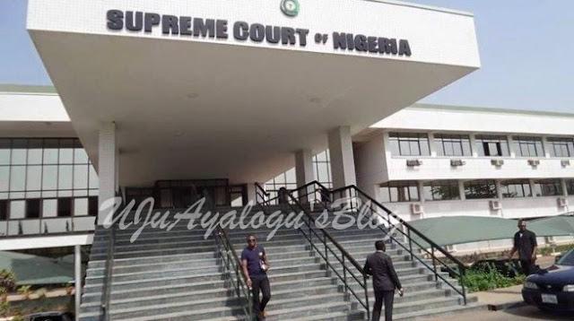 BREAKING: Pandemonium at Supreme Court as CJN swears in 29 new SANs
