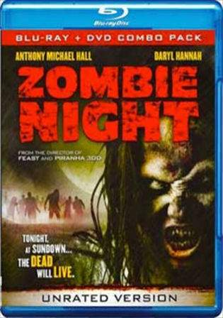 Zombie Night 2013 BRRip 700MB Hindi Dubbed UNCUT Dual Audio 720p