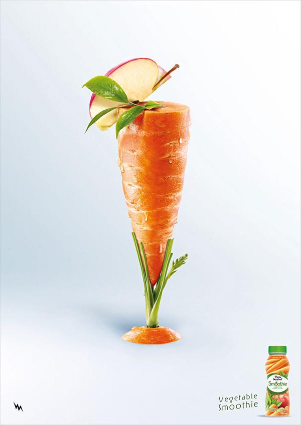cartel  de zanahoria
