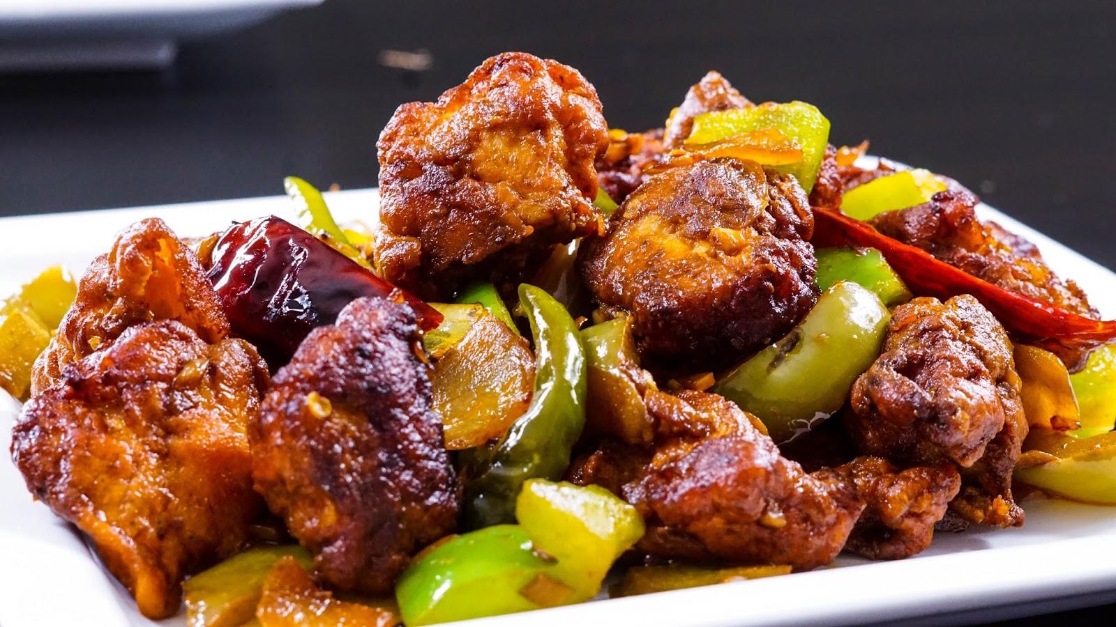 Chilli Chicken Recipe | Steffi's Recipes