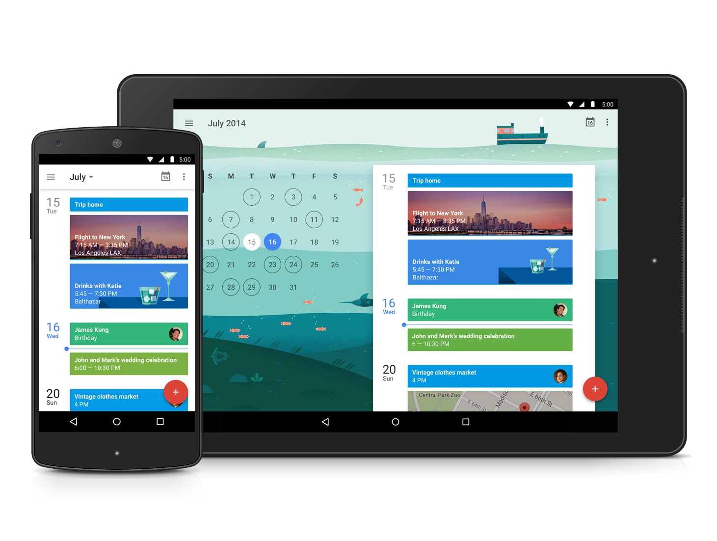 Official Gmail Blog: A new day for Google Calendar