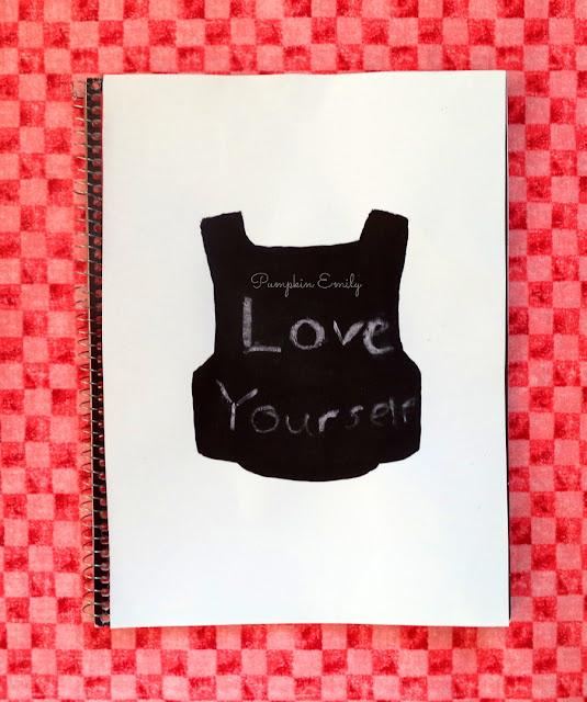 DIY BTS Chalkboard Notebook
