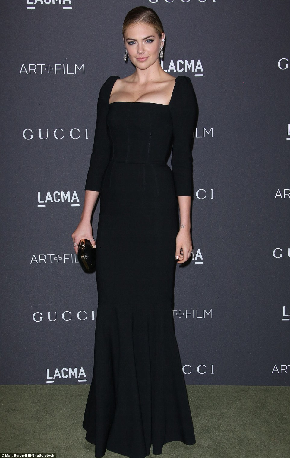 Kate Upton flaunts shapely physique at the LACMA Art + Film Gala in LA