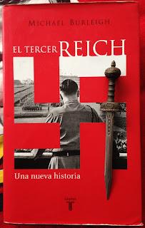 Portada del libro El Tercer Reich, de Michael Burleigh