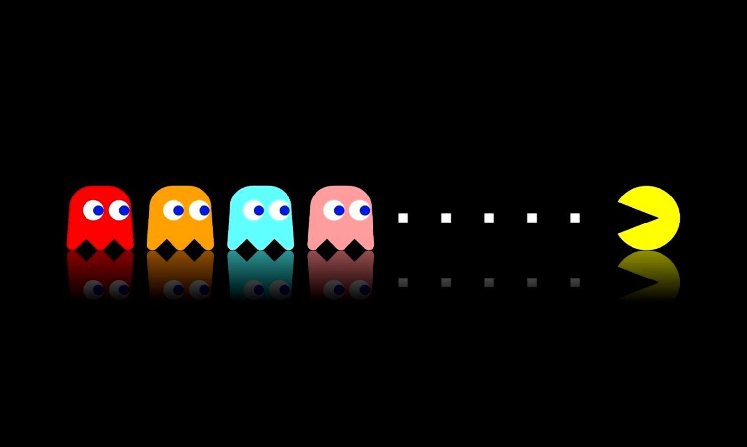 Pacman Iphone 6 Wallpaper Hd: Pacman Iphone 4 Wallpaper