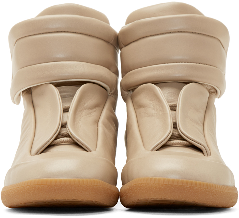 07d0d3e8d3a28 Beige Skies Ahead  Maison Martin Margiela Future High Top Sneakers ...