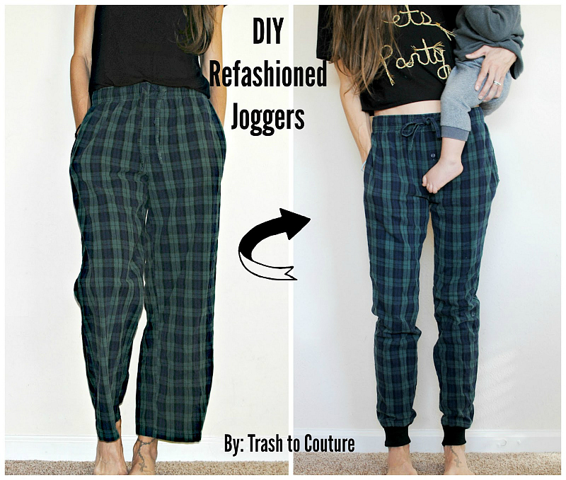 refashion joggers