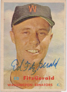 1957 Topps, Ed Fitz Gerald