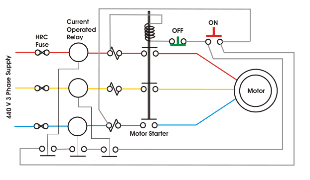 Motor Protection Circuit Electrical Engineering Pics