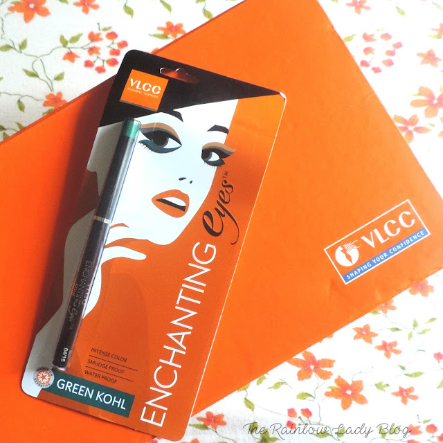 VLCC enchanting eyes green kohl review