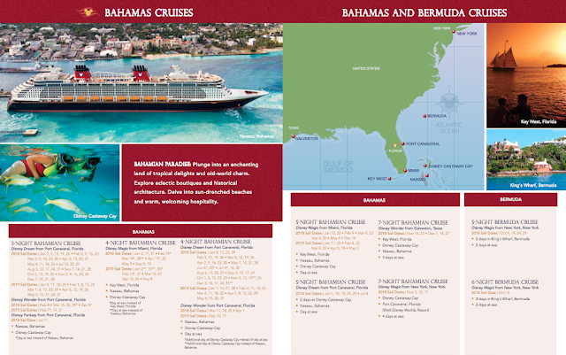 disney cruise 2018 schedule - 1011×634
