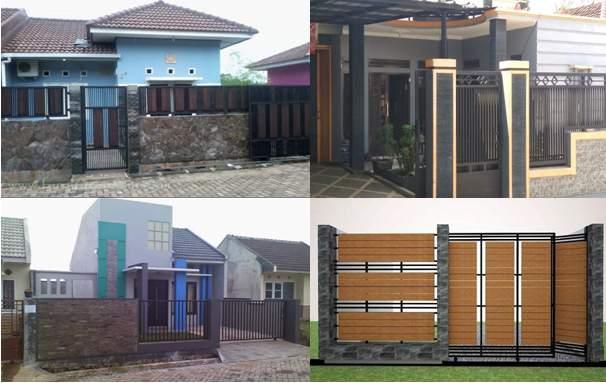 29 Pagar Rumah Minimalis Batu Alam 2019 Rumah Minimalis