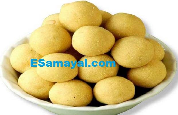 உளுந்து மாவு உருண்டை செய்முறை | Urad Flour Pudding Recipe !
