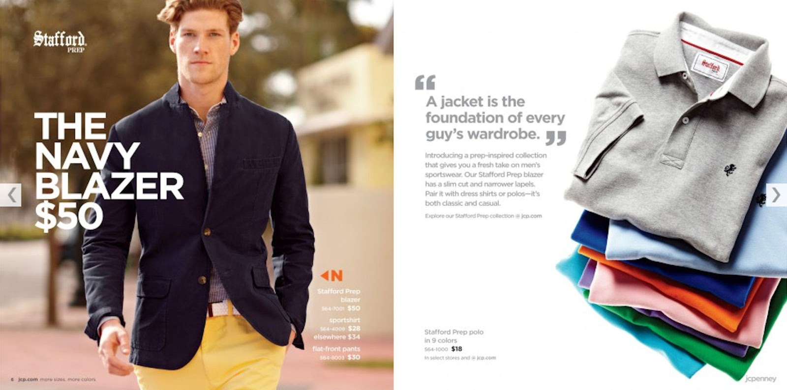 3edb1abfe89a Some of the images from the JCPenney Nick Wooster Catalogue are a good  indication of key items to build a good foundation for any man s wardrobe.