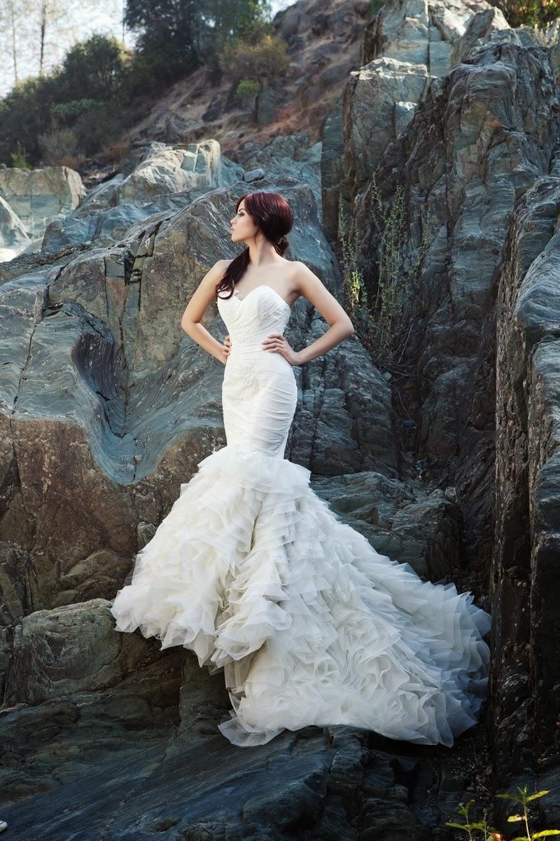 Wedding Blog Fairy Tale Mermaid Wedding Gowns
