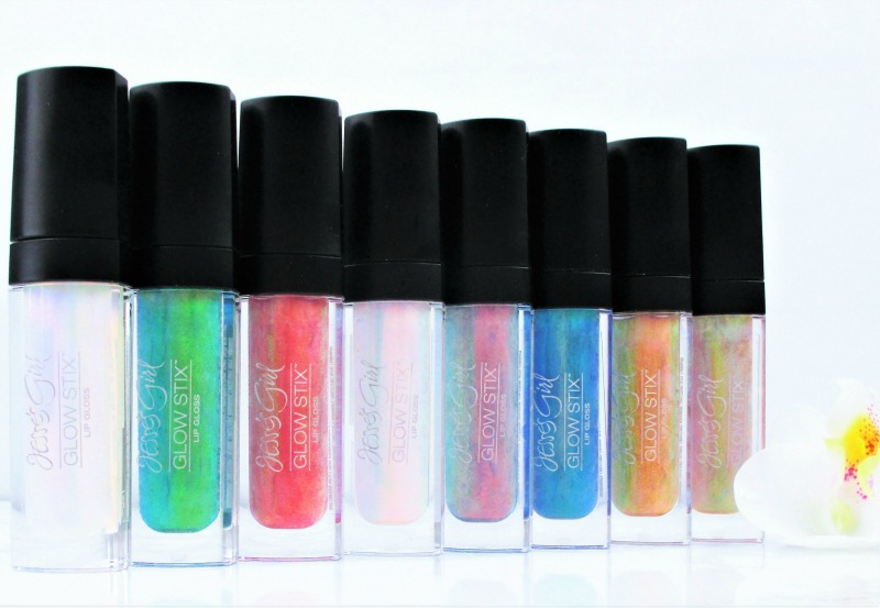 jesses girl glow stix liquid crystal lip gloss review and swatches