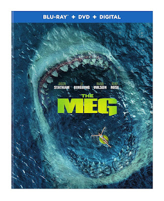 The Meg 2018 Blu Ray