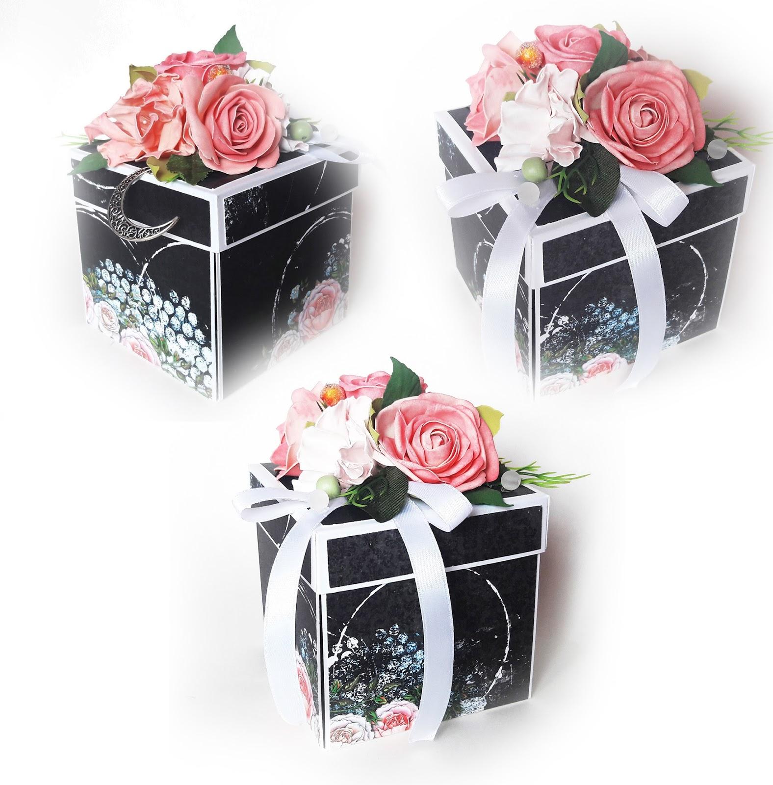 Z Miłością Do Papieru Exploding Box Dla Kobiety