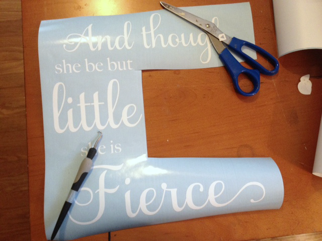 Silhouette tutorial, Silhouette Cameo, vinyl, avoid wrinkled transfer tape