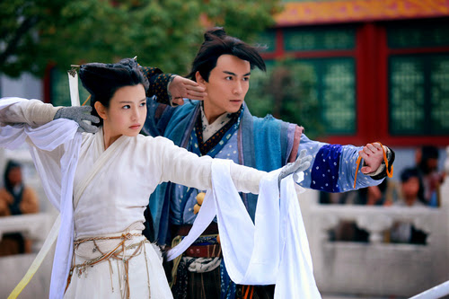 condor heroes 2014, chen xiao, michelle chen, best wuxia, asian drama withdrawals
