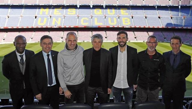 مفاجأة.. 5 مدربين رفضوا تدريب برشلونة قبل سيتين
