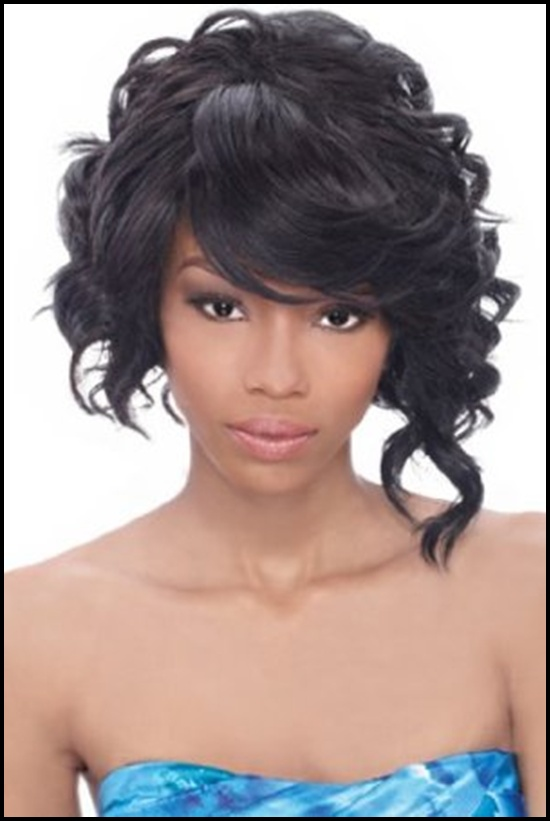 Swell 60 Short Curly Hairstyles For Black Woman Stylishwife Hairstyles For Women Draintrainus