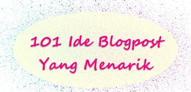 101 Ide Blogpost Yang Menarik