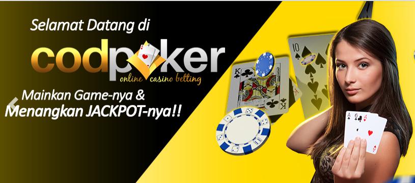 Codpoker Merupakan Salah Satu Situs Poker Terpercaya