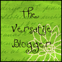The Versitle Blogger Award.