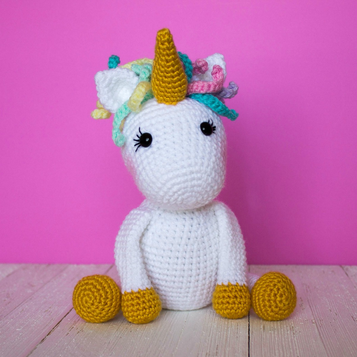 20 Most Amazing Unicorn Amigurumi Patterns | Crochet Arcade | 1200x1200