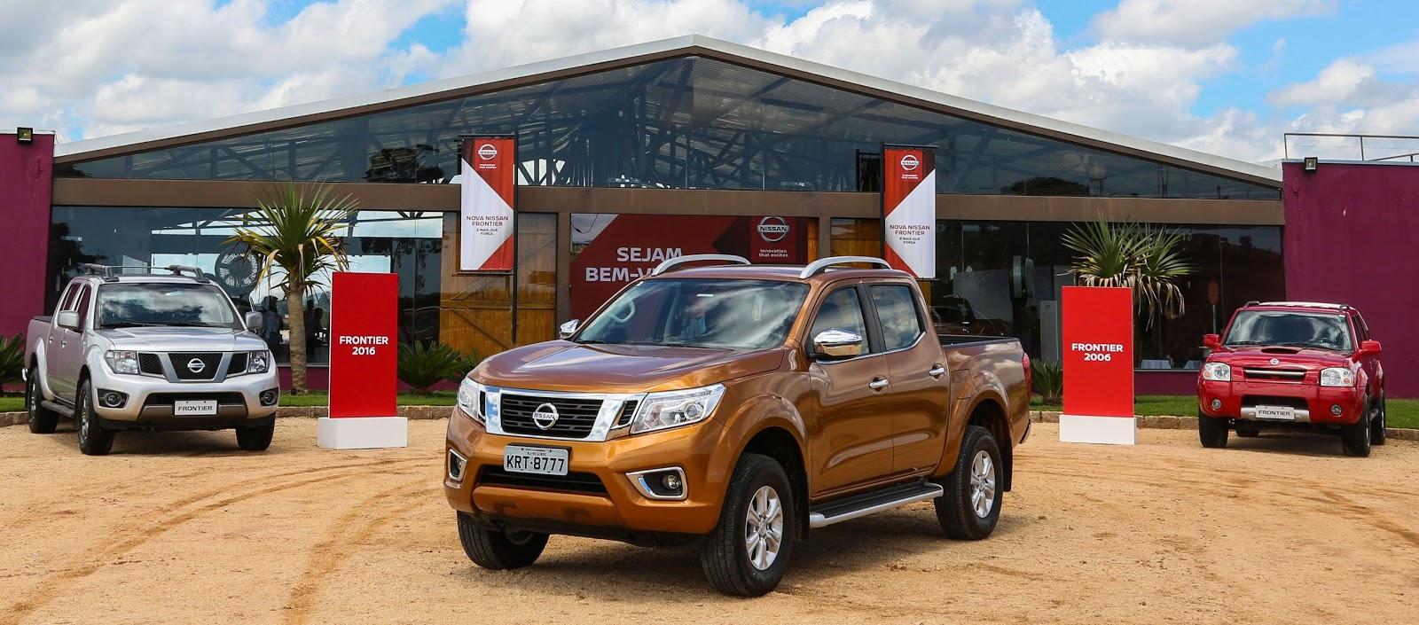 Nova Nissan Frontier: na cidade, na estrada e fora dela, uma picape preparada para tudo