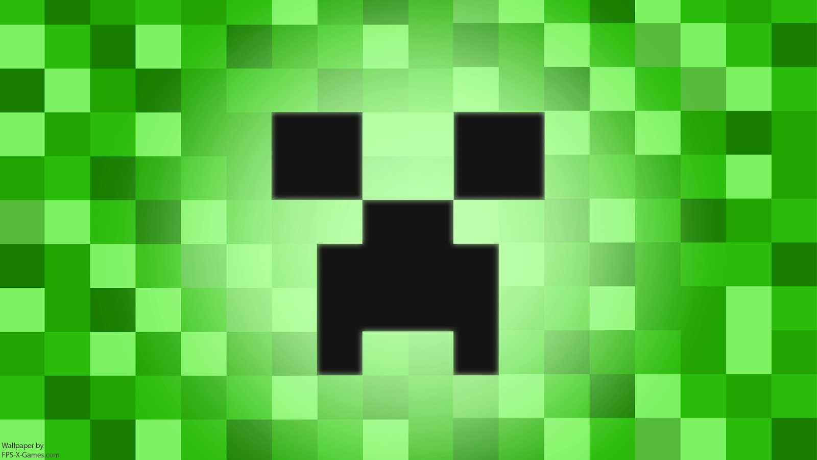 Minecraft Characters Faces Minecraft Creeper Desktop Wallpaper