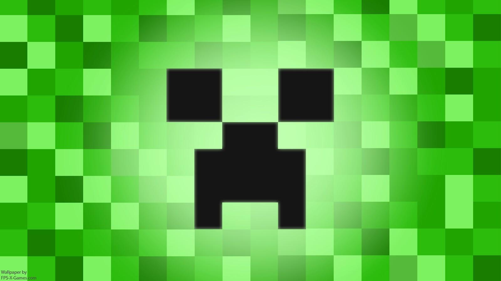 Minecraft Creeper Desktop Wallpaper