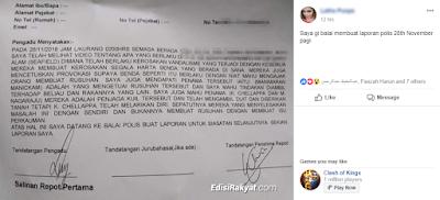 Wanita lapor polis dakwa K. Chellapa, penjaga kuil Seafield sudah ambil duit dan larikan diri
