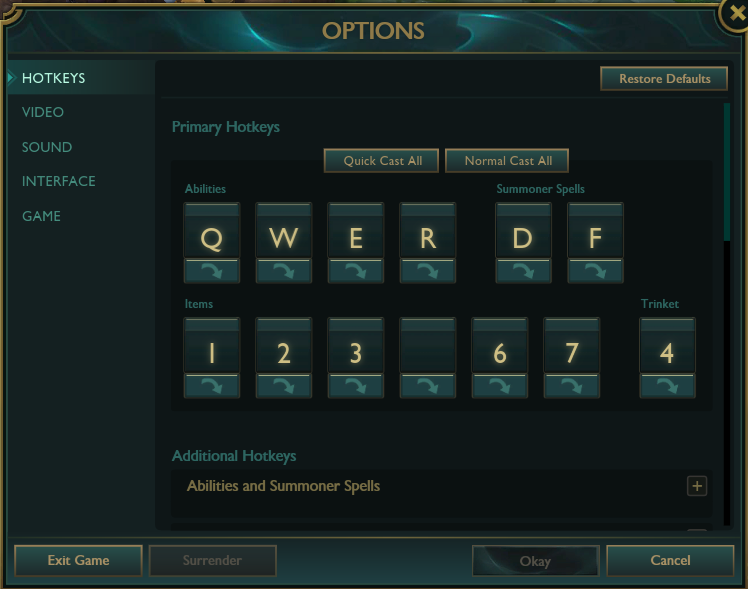 how to open chat in lol key