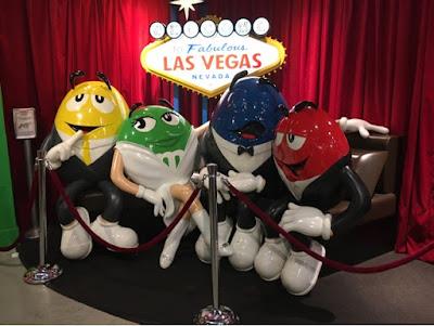 Roadtrip USA - on the road again - Las Vegas M&M