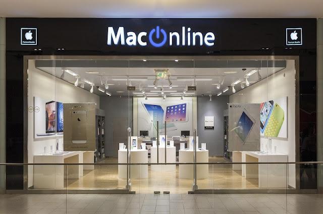 Lojas da Samsung e da Apple em Santiago