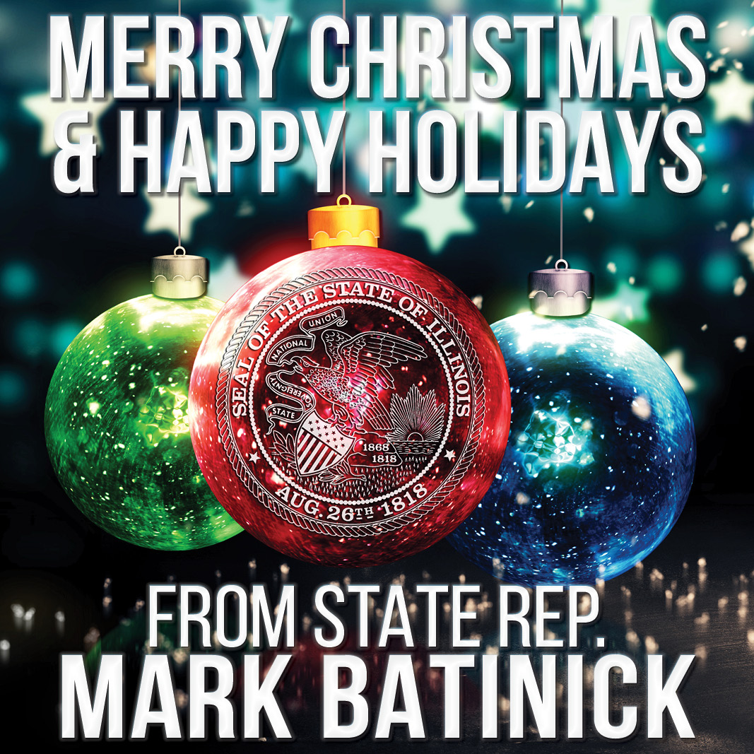 illinois state representative mark batinick merry christmas happy