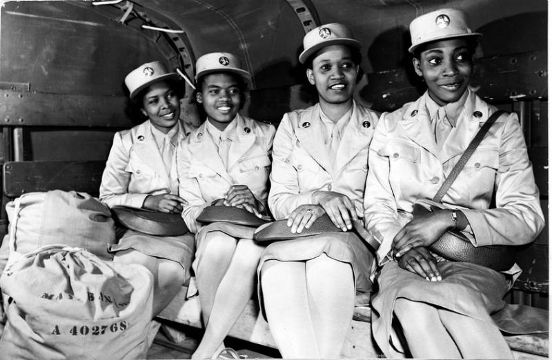 Amazing Photos of African American Women at Work During World War II