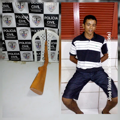 Jovem é preso acusado de assassinar homem de 50 anos em Araioses.
